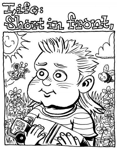 """""""Joe Dirtnap"""" by Jesse Baggs, panel 1 of 2"""