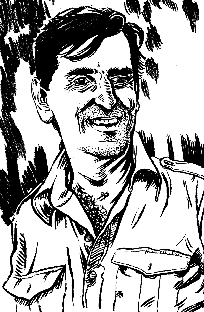 """Harry Dean Stanton"" by Jesse Baggs."