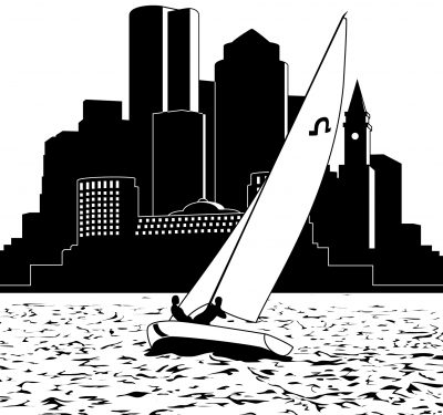 """Boston Sailing"" by Jesse Baggs"