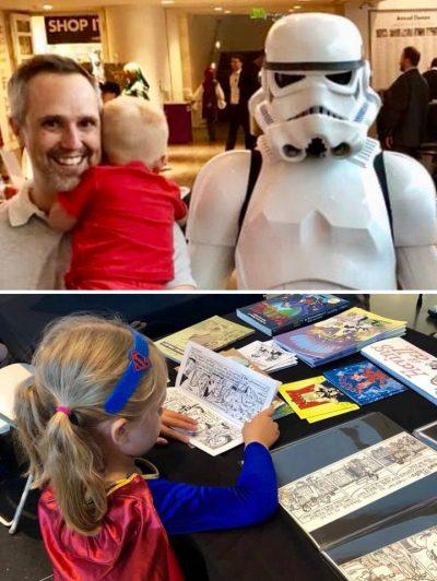 Baggs Family at CrockerCon 2018