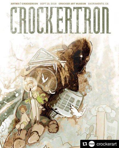 Flyer for CrockerCon 2018