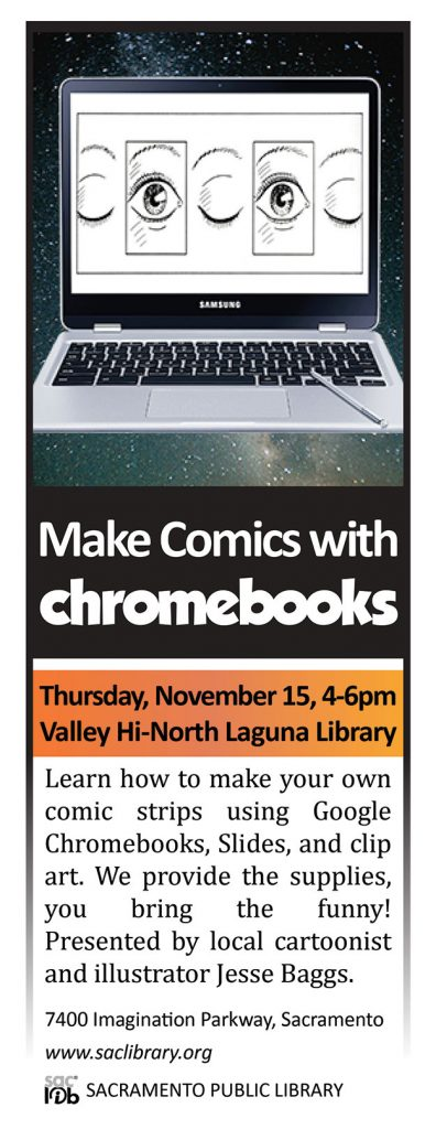 """Make Comics with Chromebooks"" by Jesse Baggs"