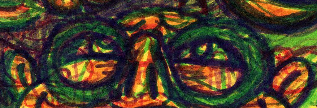 """Illustracia Detail: Nerd Voyeur"" by Jesse Baggs"