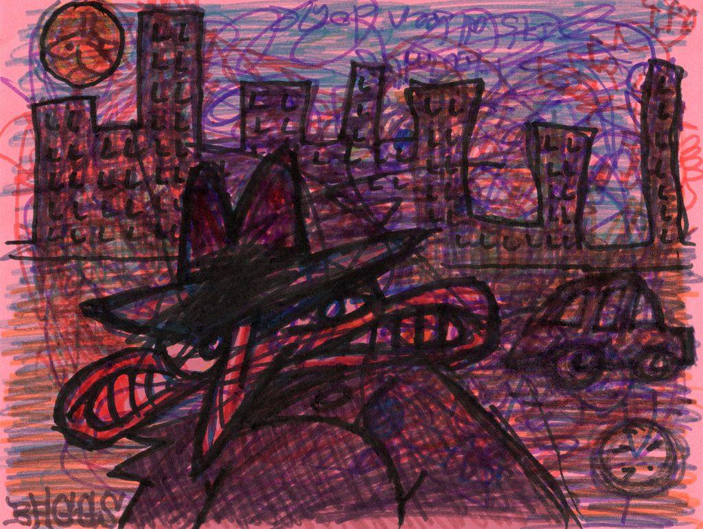 """""""Neighborhood Splotch"""" by Jesse Baggs"""