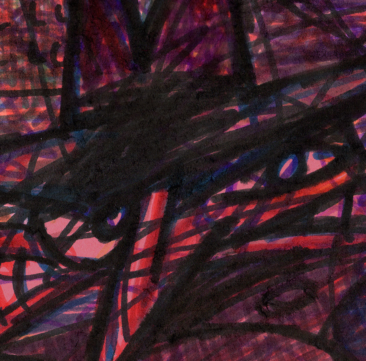 """""""Neighborhood Splotch [Portrait]"""" by Jesse Baggs"""