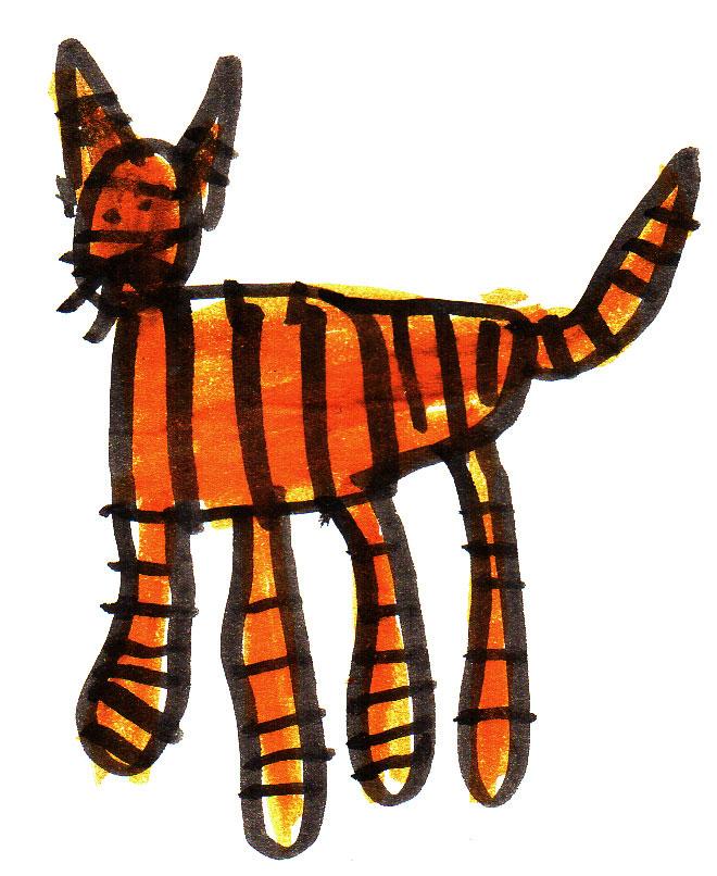 """""""Cat 2"""" by L."""