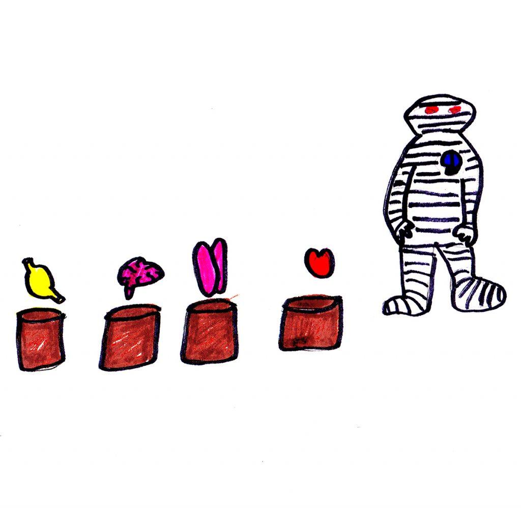 """Mummification"" [5 of 7] by Jesse Baggs"