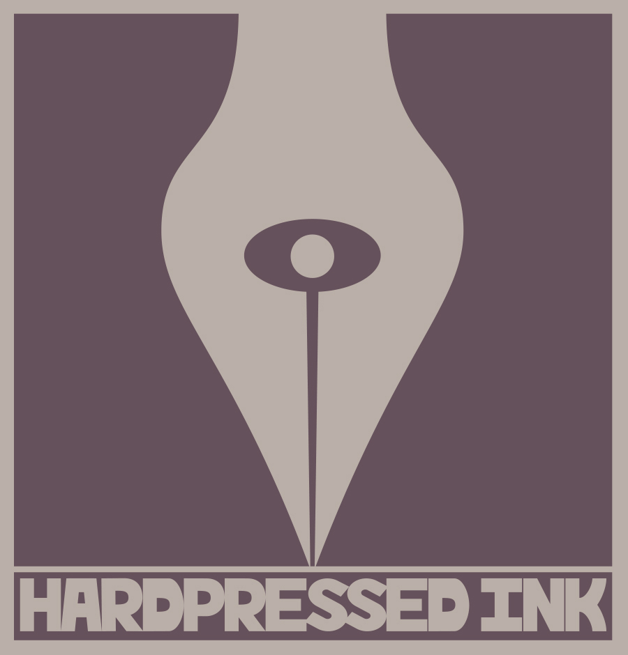 """HardPressed Ink Logo"" by Jesse Baggs"