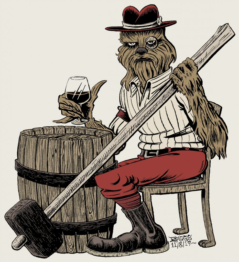 """Wookie Sledgehammer"" by Jesse Baggs"