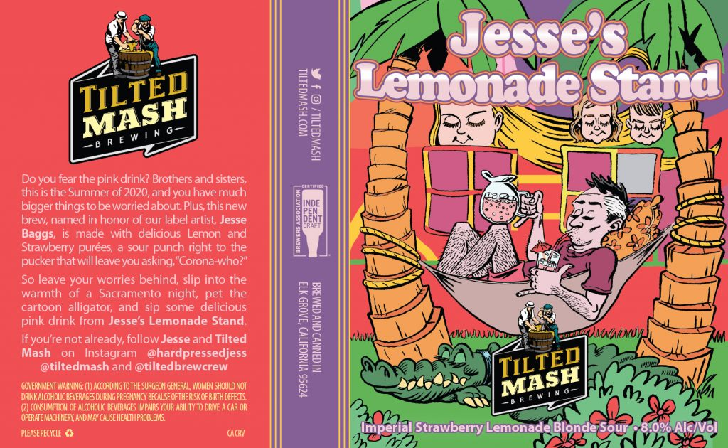"""Jesse's Lemonade Stand [Label]"" by Jesse Baggs"