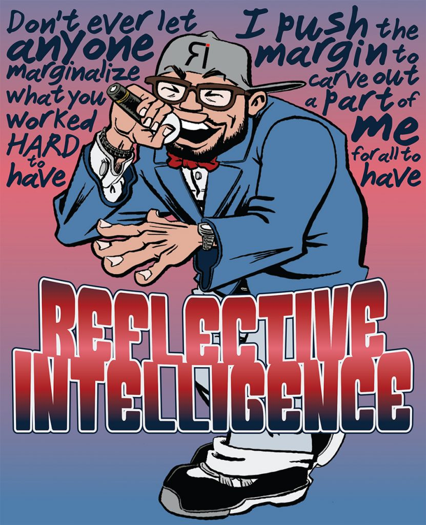 """""""Reflective Intelligence [Color]"""" by Jesse Baggs"""