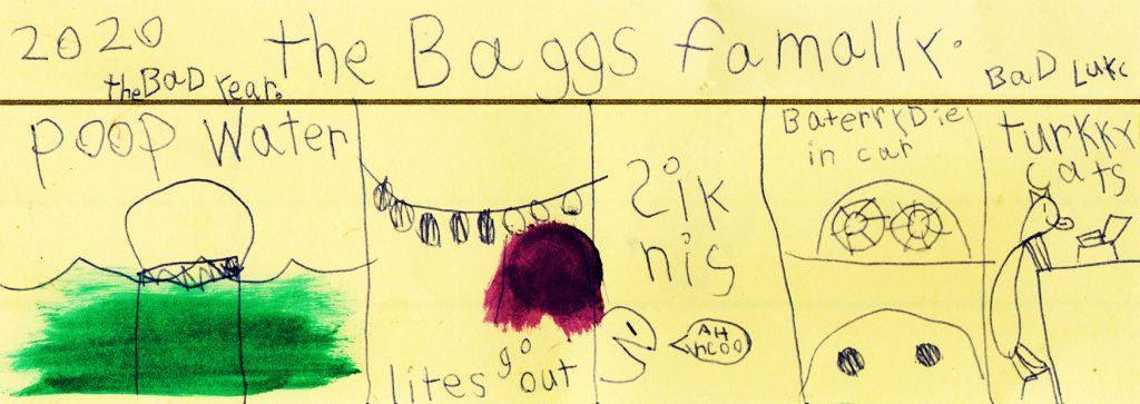 """""""Bad Lukc"""" by S. Baggs"""