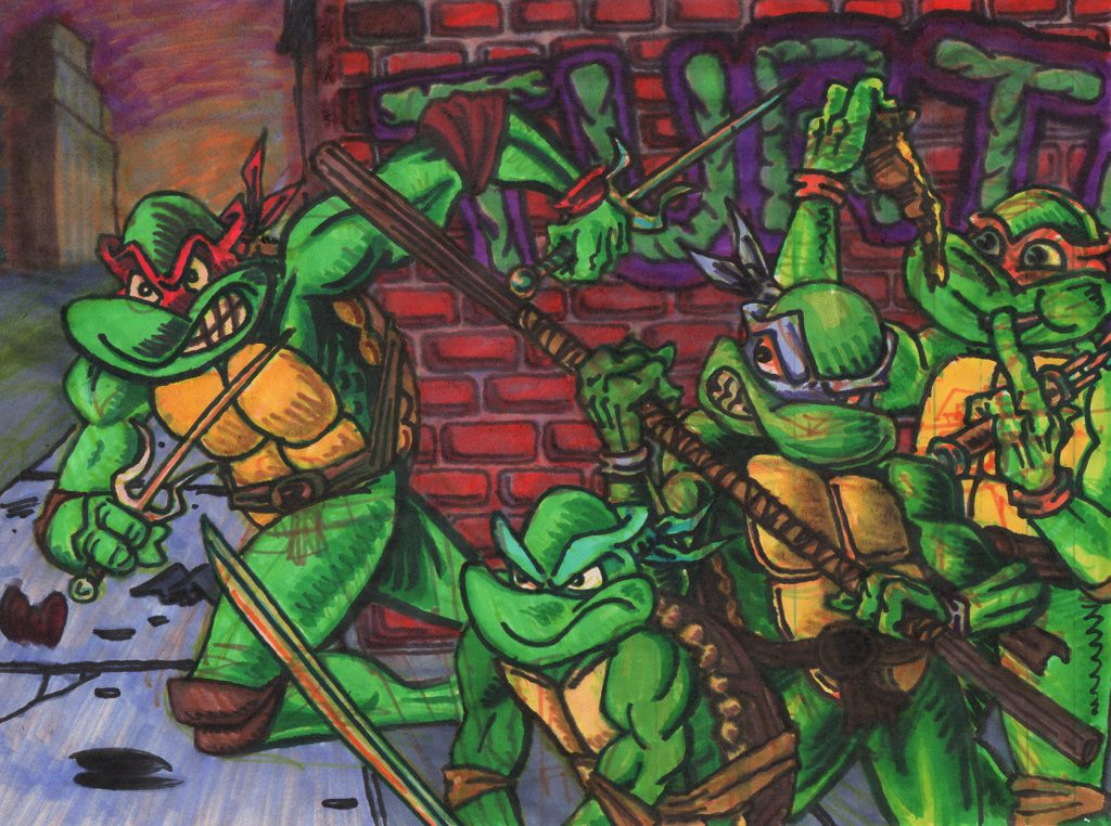"""Turtles"" by Jesse Baggs"