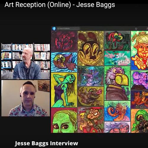 Jesse Baggs interviewed by Ben Schwartz for Empire's Comics