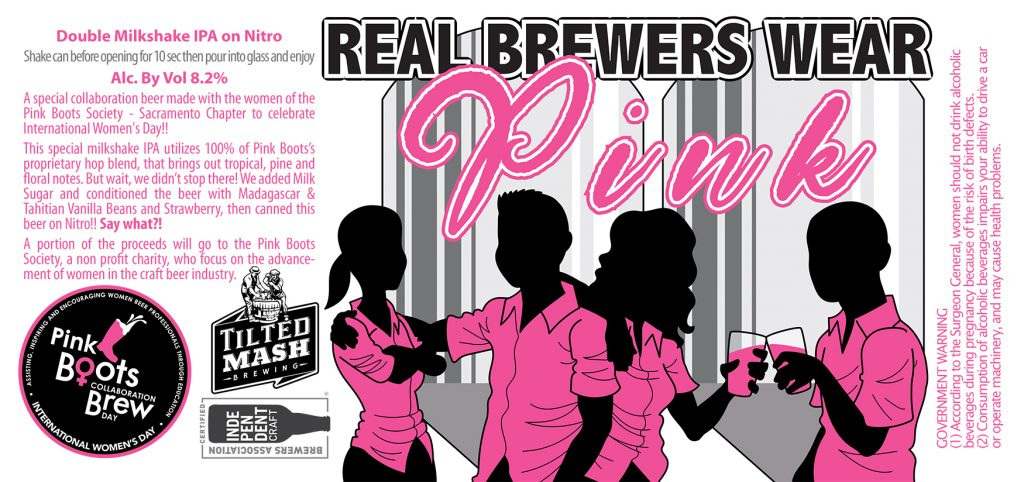 """""""Real Brewers Wear Pink"""" by Jesse Baggs"""