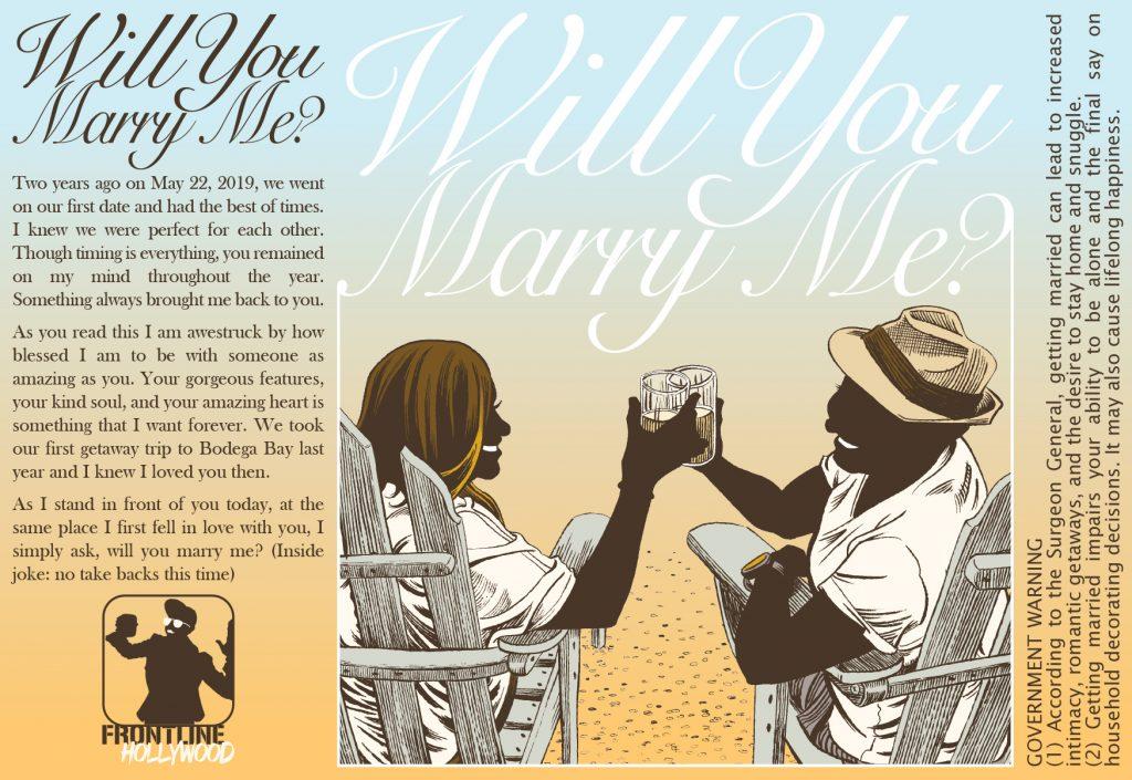 """Marry Me [Label Design (Instgram Version)]"" by Jesse Baggs"