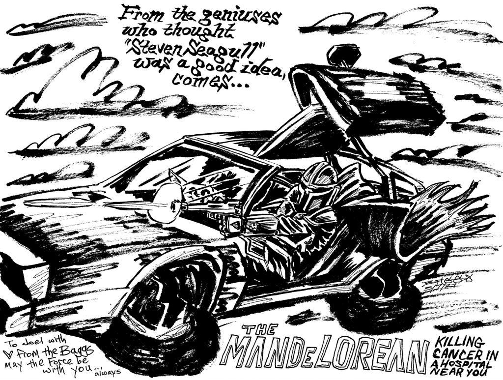 """The ManDeLorean"" by Jesse Baggs"