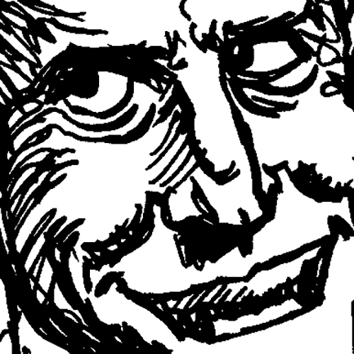 """""""Pen and Ink Book, Page 2 [Excerpt]"""" by Jesse Baggs"""