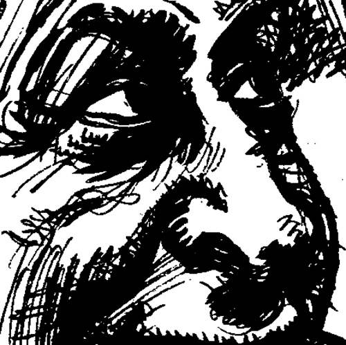 """""""Pen and Ink Book, Page 5 [Excerpt]"""" by Jesse Baggs"""